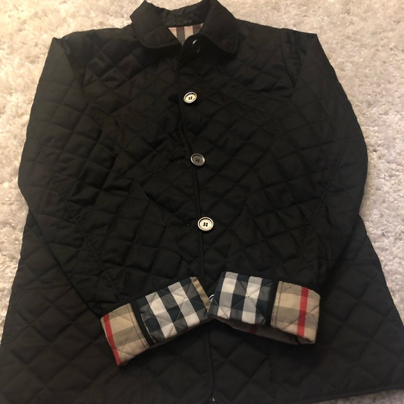 Burberry Kids Quilted Jacket Size 14y